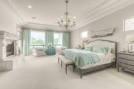 traditional master bedroom blue. Traditional Master Bedroom With Materials Marketing Fireplace Design Number 205 Chandelier Crown Molding Blue