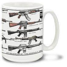 Get it while it's hot! Gun Mugs