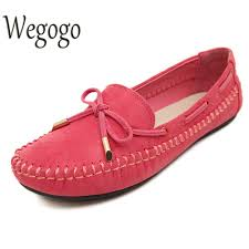 <b>Womens Flats</b> Casual Bowtie Loafers Sweet Candy Colors <b>Flats</b> ...