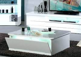white coffee table with drawer high gloss coffee table awesome white square with shelves pertaining to white coffee table with drawer