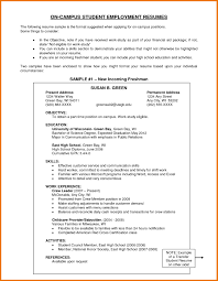 Sample Resume Undergraduate Teaching Assistant New Teaching