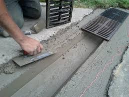 Concrete Trench Drain Design Concrete Drain Grate Google Search Design Build Pinterest