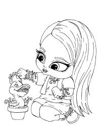 Small Picture Baby Monster High Coloring Pages Monster High Coloring Page