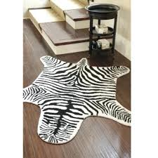 fake animal skin rugs tiles hide rug faux design black and white zebra hide rug faux