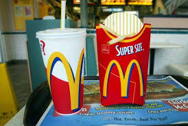 mcdonalds supersize meal. Beautiful Meal McDonaldu0027s Super Size Inside Mcdonalds Supersize Meal E