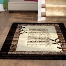 wonderful winston porter wilda blackbrownbeige area rug reviews wayfair intended for brown and black area rugs modern