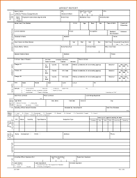 Sample Of A Police Report Free Editable Certificate Templates For Word