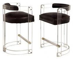 Furniture lucite bar stools with houston design blog material girls