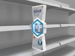 Point Of Sale Material Design Sensodyne Repair Protect Full Range Display Designs On