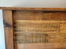 King Oak Headboard Intended For Popular Of With Catchy Size Wooden Plan 16