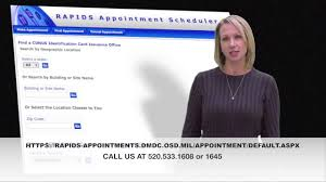 deers id card appointment system replaced dec 1st