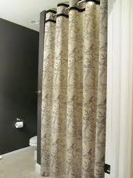 custom size shower curtains short length curtain lengths sized amusing