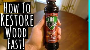 Make Old Furniture Look Brand New With Old English