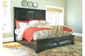 Ashley Furniture Storage Bed Furniture Black Storage Bedroom Set ...