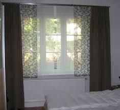 Genial Gardinen Fenster Tür Kombination 45 Design