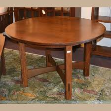 stickley 48 fixed round dining table recently sold archives