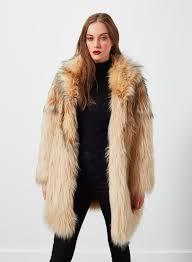 faux fur coat trendy