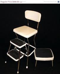 retro step stools vintage retro step stool yellow