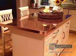 copper countertops kitchen copper counter tops are commonly fabricated with these materials diy copper kitchen countertops