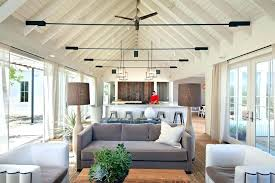 cathedral ceiling lighting ideas chandelier vaulted interior design beautiful living room kitchen cathedral ceiling lighting