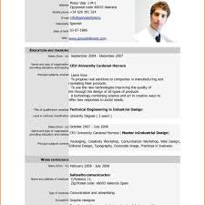 Resume Format Standard Resume Format Pdf It Resume Cover Letter Sample for 54
