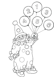 coloring pages printable clown coloring pages clowns lovely circus page co