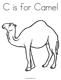 Small Picture Camel Coloring Page Coloring Pages