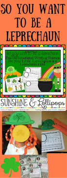 st patrick s day craft and differentiated writing frames for k 2 differentiated writing frames to show your