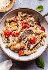 balsamic tomato basil pasta