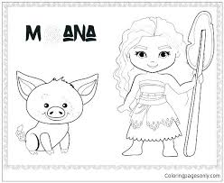 Baby Disney Characters Coloring Pages Printable Colouring Free