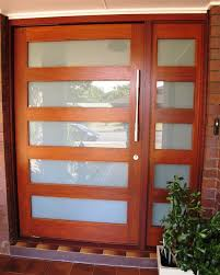 endearing modern glass exterior doors with front throughout plan 4