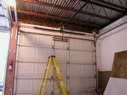 garage doors installationGarage Door Installation Pictures