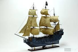 black pearl pirate wooden handmade ship model