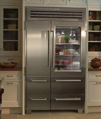 I realize that most people wouldn't want a glass doored refrigerator, but I  think it would force me to keep my refrigerator organized and full of  healthy ...