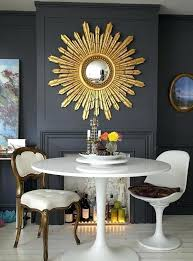 sun mirror wall decor mirrors remarkable sun mirror wall decor minimalist home style with round table