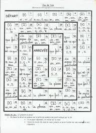 Jeu De L Oie En Orthographe Et Grammaire Ce1 8 Ans Exercices
