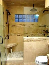 bathrooms with glass shower walls throughout ideas 0 standard sizes bathroom