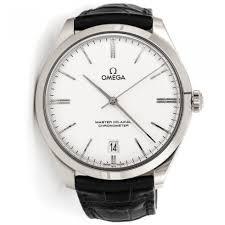 omega de ville trésor silver dial 18k white gold men s watch omega de ville trésor silver dial 18k white gold men s watch 43253402102004