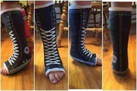 Fun Converse Designs Leg Cast Design Idea Cast Decoration Making Cast More Fun