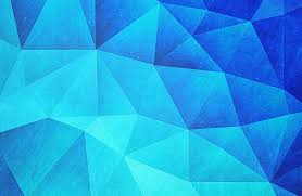 abstract polygon multi color cubizm painting in ice blue digital throughout ideas 13