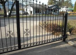 modern metal gate. Modern Metal Driveway Gates Wrought Iron Modern Metal Gate