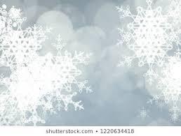 Snowflake Texture Decorative Winter Background Stock Illustration