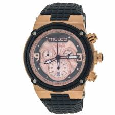 mulco watches for men usa watches store mulco mw312140023 illusion cube mens watch rose colored