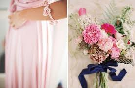 Dusty blue pink gold classic wedding ideas Blush Pink Navy Blue With Blush Pink And Ivory Viswed 12 Perfect Combinations For Color Schemes For Fall Weddings