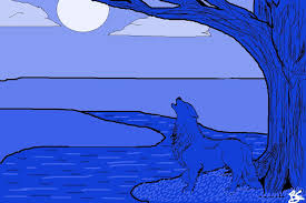 monochromatic painting examples. monochromatic atmoshperic perspective digital art painting examples