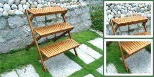 tiered outdoor plant stand tiered outdoor plant stand outdoor plant stand tiered outdoor plant stand plans garden plant table 3 3 tier outdoor wooden plant