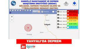 YAHYALI'DA DEPREM • Güncel haberleri •