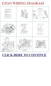 q ezgo wiring diagram ezgo wiring diagram