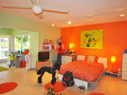 Orange And Green Bedroom Pink And Green Bedrooms Green Pink Bed Sheet Wooden Sliding White