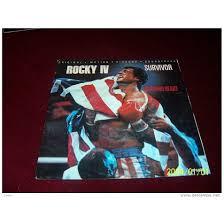 survivor BO ROCKY IV BURNING HEART / FEELS LIKE LOVE ° ROCKY 4
